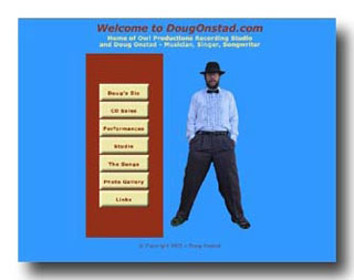 Doug Onstad web site