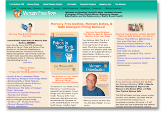 Mercury Free Now web site