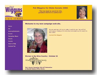Pat Wiggins web site
